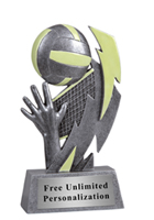 Glow in the Dark Volleyball Award